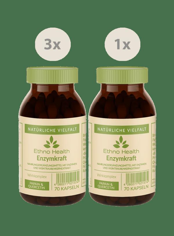 Enzymkraft Kur von Ethno Health