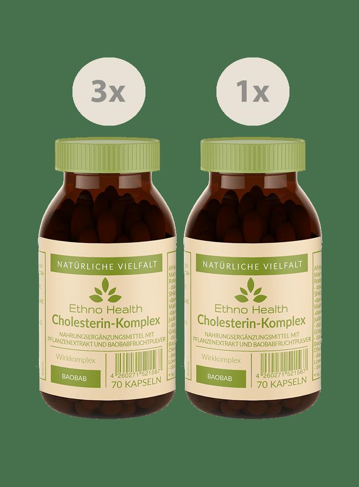 Cholesterin-Komplex Kur
