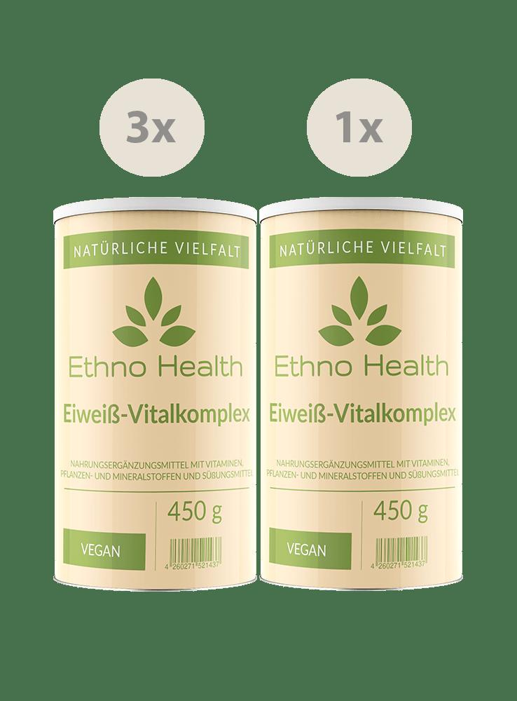 Eiweiß Vitalkomplex Kur von Ethno Health